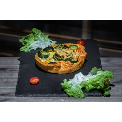 Quiche Chèvre / Courgette
